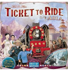 Days of Wonder TICKET TO RIDE : MAP #1 - ASIA