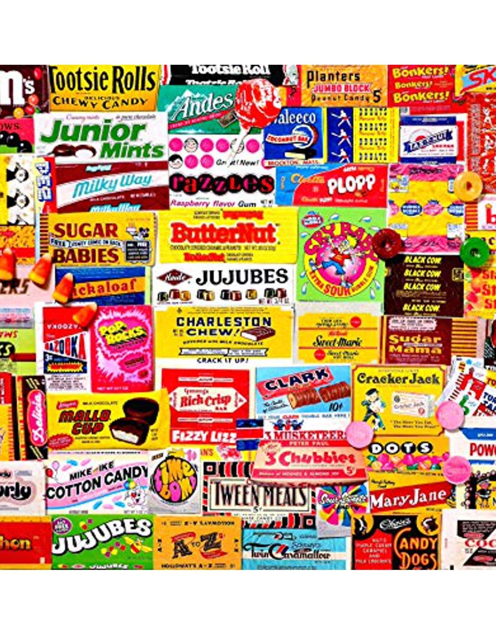 White Mountain CANDY WRAPPERS 1000 PIECES