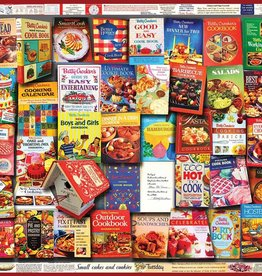 White Mountain BETTY CROCKER COOKBOOKS 1000 PIECES