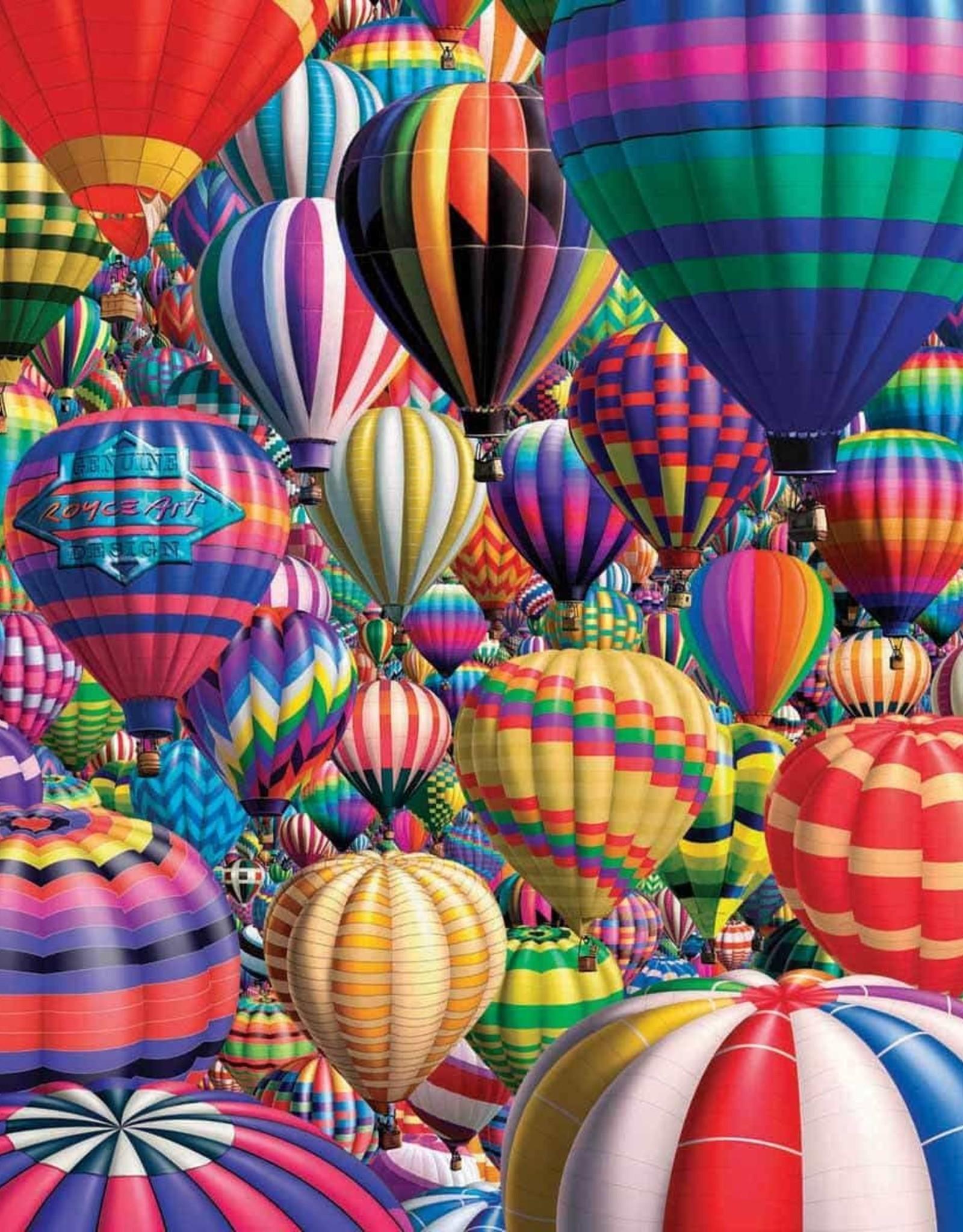 White Mountain HOT AIR BALLOONS 1000 PIECES