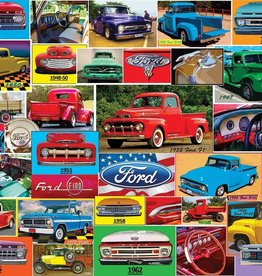White Mountain CLASSIC FORD PICKUPS 1000 PIECES