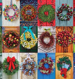 White Mountain HOLIDAY WREATHS 550 PIECES