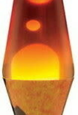Lava Lamp 14.5'' CMX VOLCANO-WT/TRICL