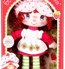 "13"" STRAWBERRY SC RAG DOLL"