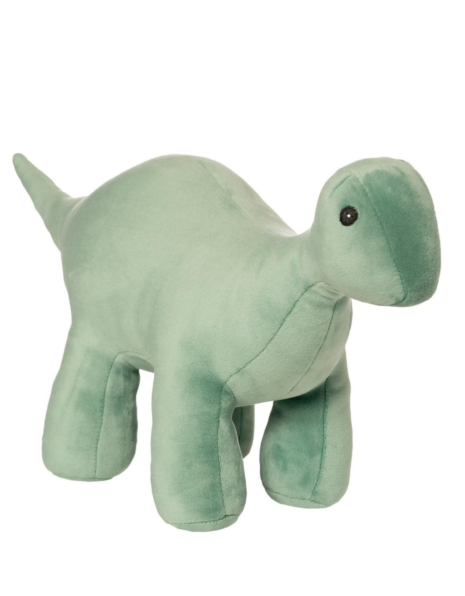Manhattan Toy Velveteen Dino Stomper (Brontosaurus) Jade