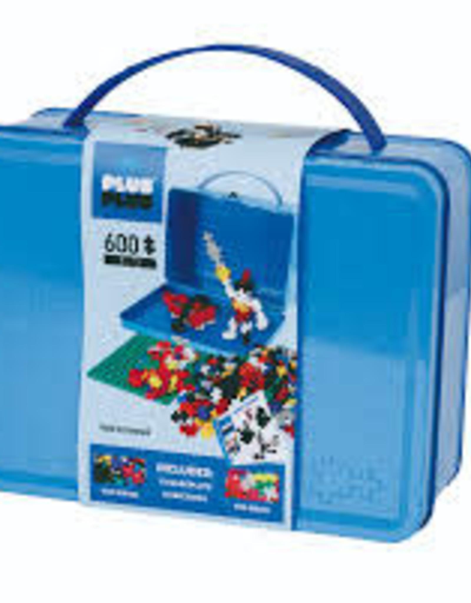 Plus Plus Plus Plus Metal Suitcase Basic 600 pcs