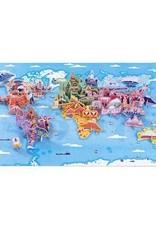 Janod 350 pc 3D Educational Puzzle World Curiosities