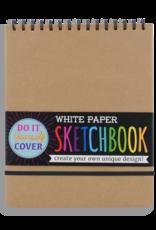 OOLY DIY SKETCHBOOK - LARGE - WHITE