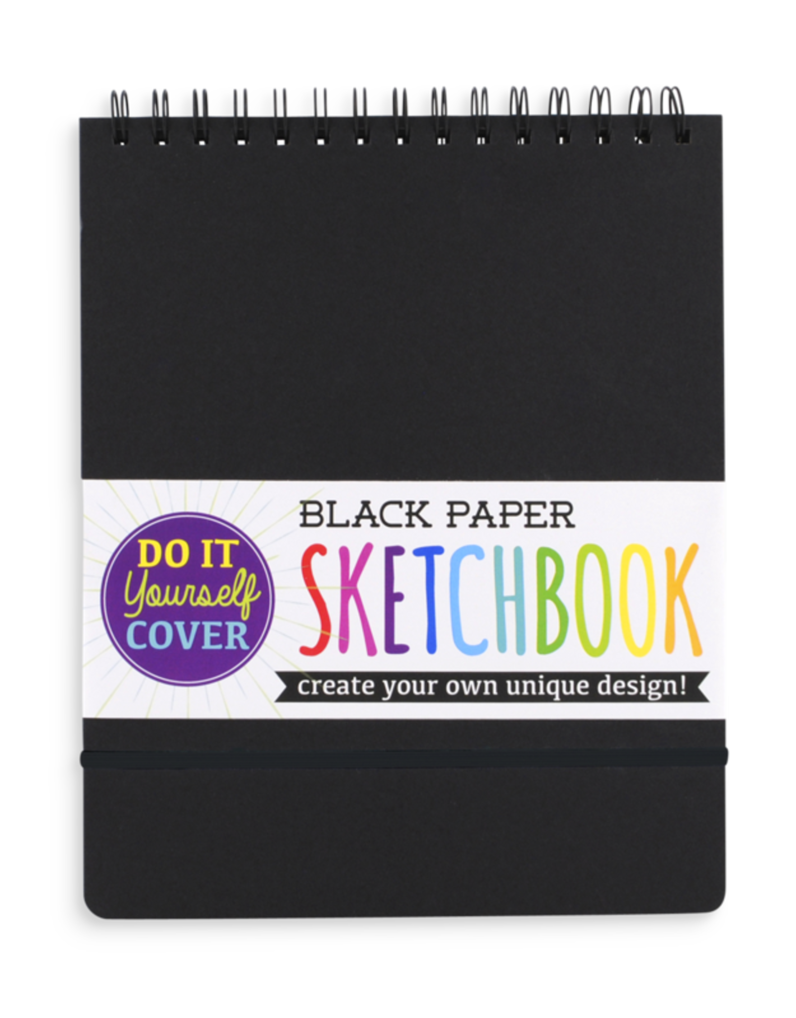 OOLY DIY SKETCHBOOK - LARGE - BLACK