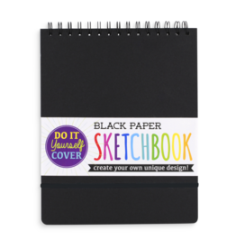 OOLY DIY SKETCHBOOK - LARGE - BLACK