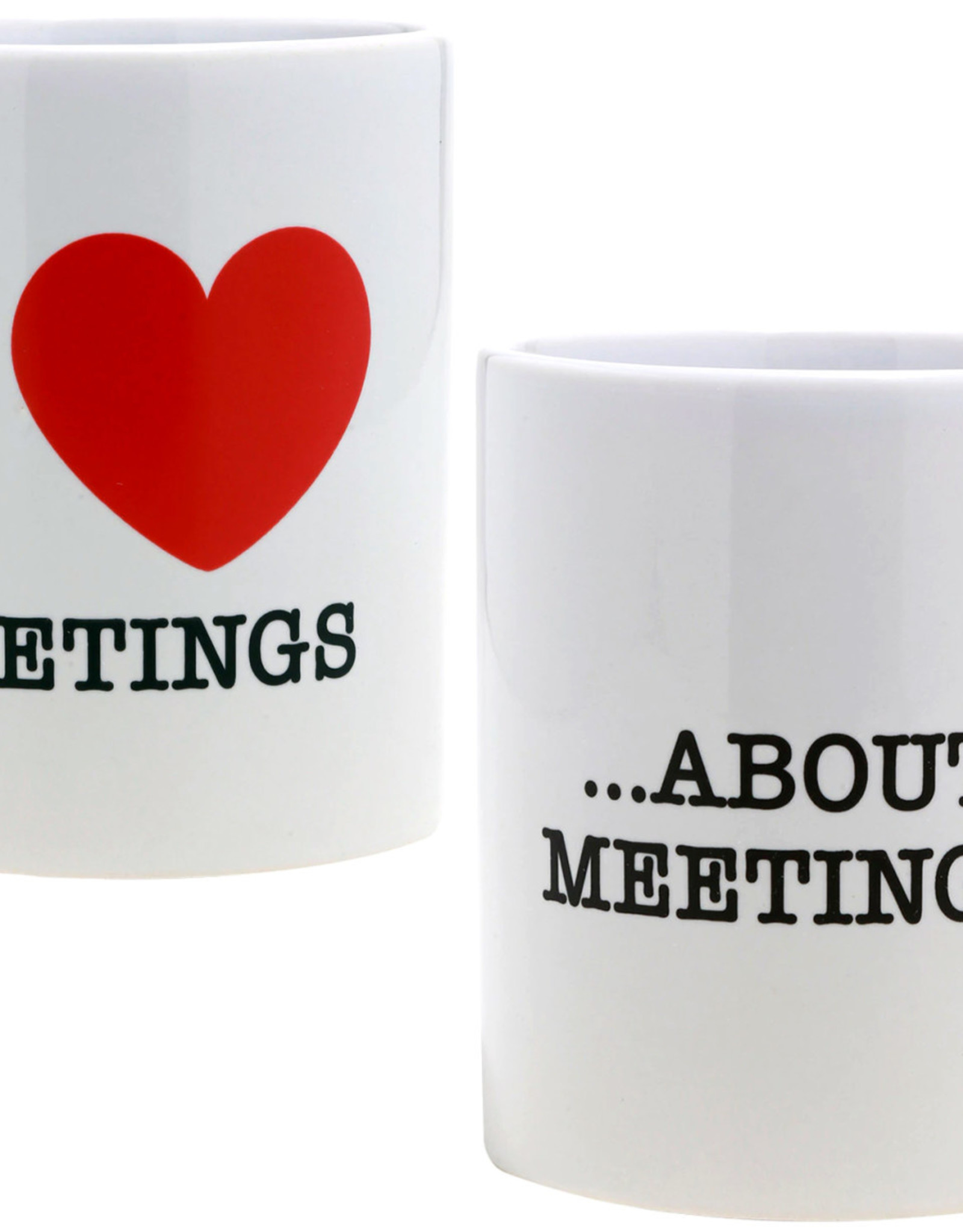 Paladone I Love Meetings Mug