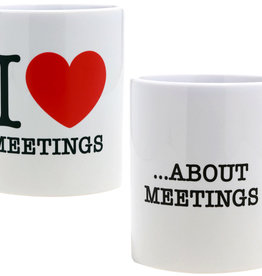 Paladone I Love Meetings Mug