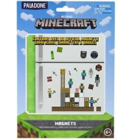 Paladone Minecraft Build a Level Magnets