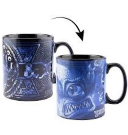 Paladone Dungeons and Dragons Heat Change Mug & Sticker