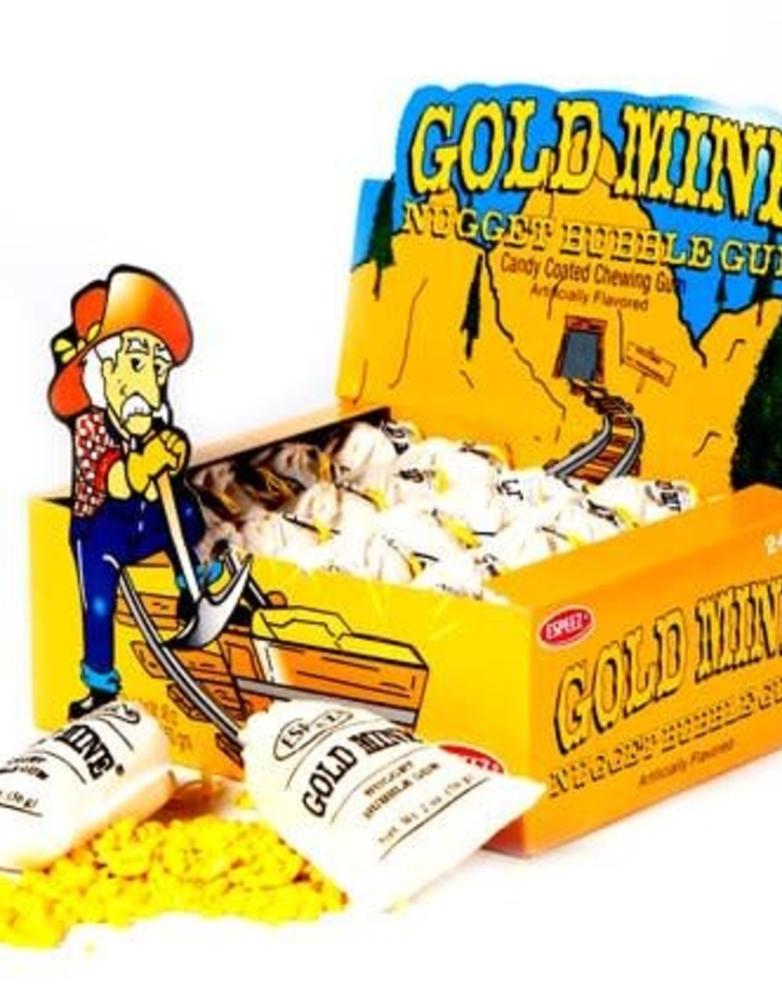 Gold Mine Nugget Bubble Gum