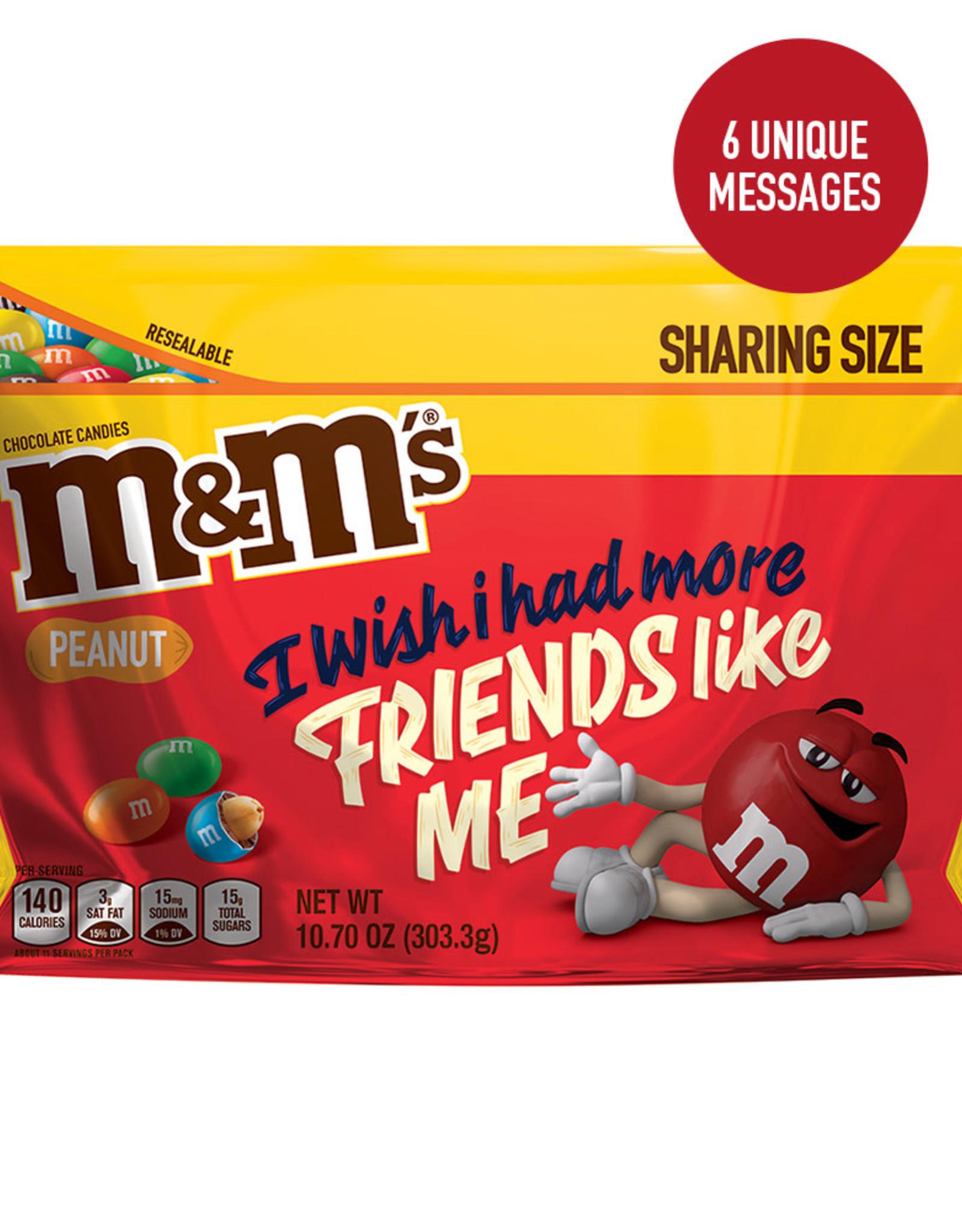 M&M M&M Peanut Share Size Messages