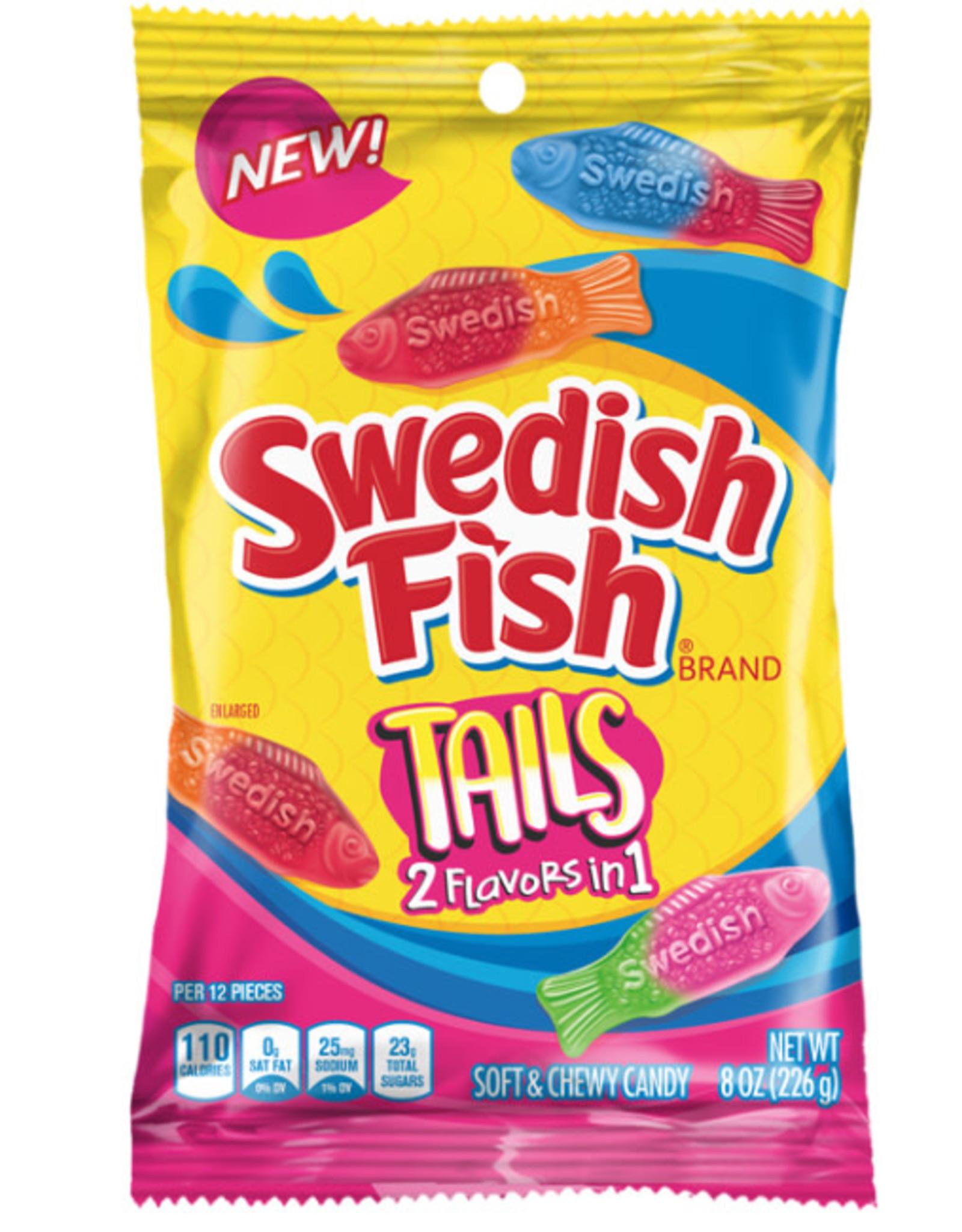 Swedish Fish Big Tails Assorted Peg Bag
