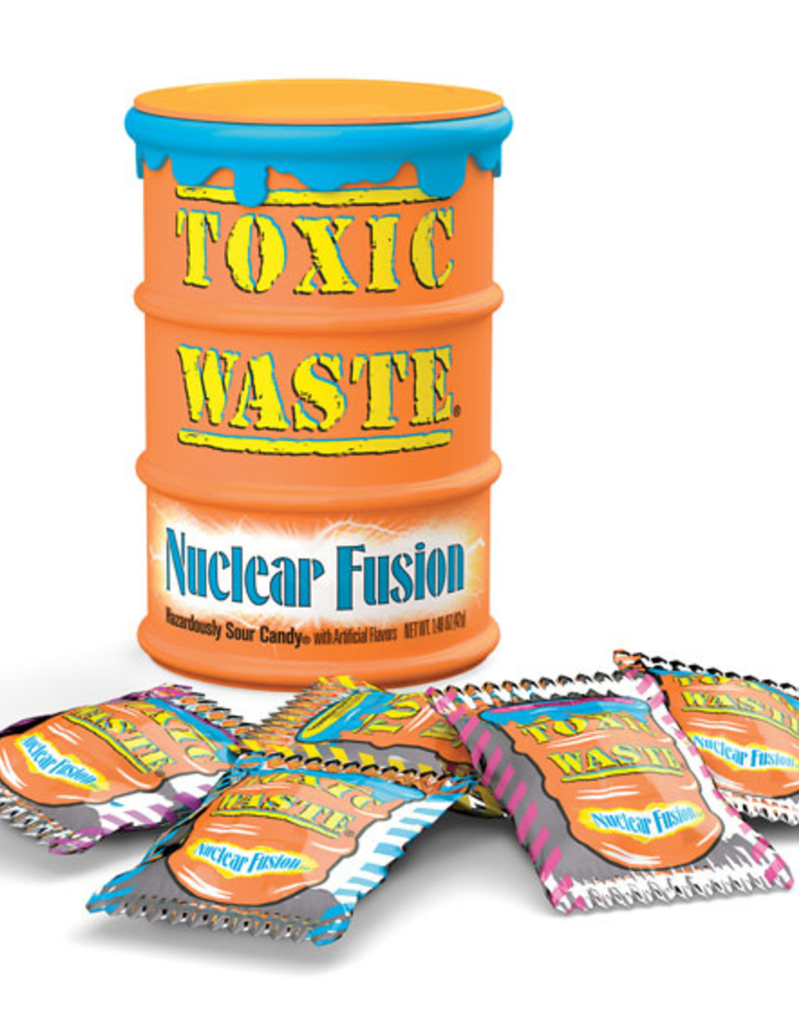 Toxic Waste Drums Nuclear Fusion