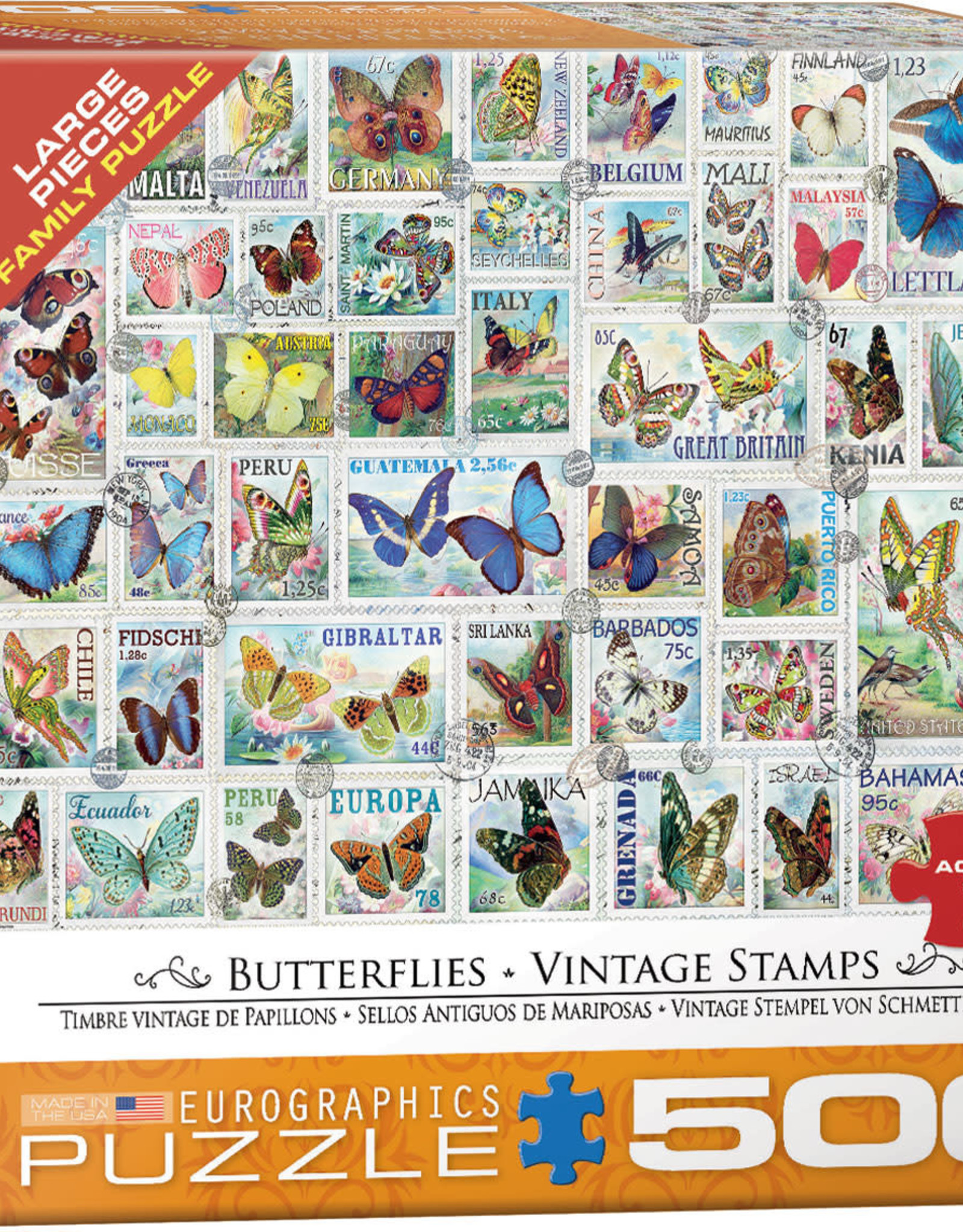 Eurographics Butterflies 500pc