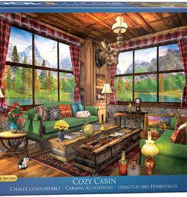 Eurographics Cozy Cabin by Dominic Davison 1000pc