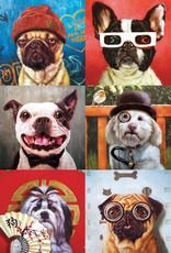 Eurographics Funny Dogs by Lucia Heffernan 1000pc