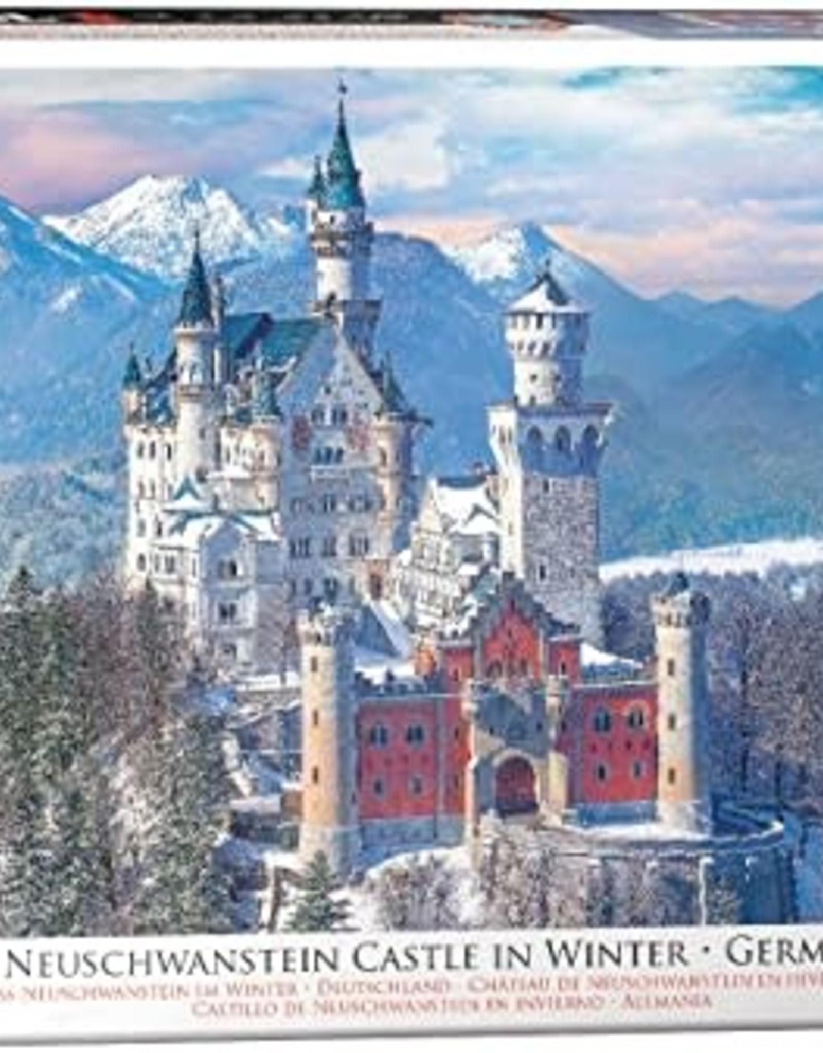 Eurographics Neuschwanstein in Winter 1000pc