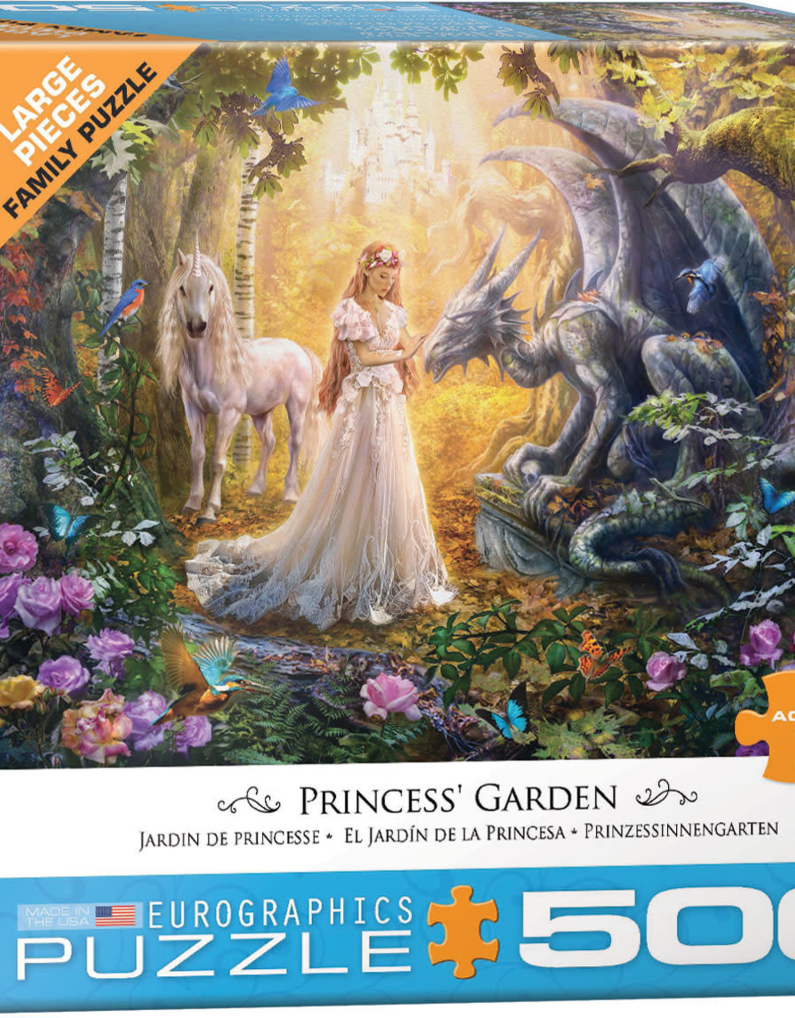 Eurographics Princess' Garden by Jan Patrik 500pc