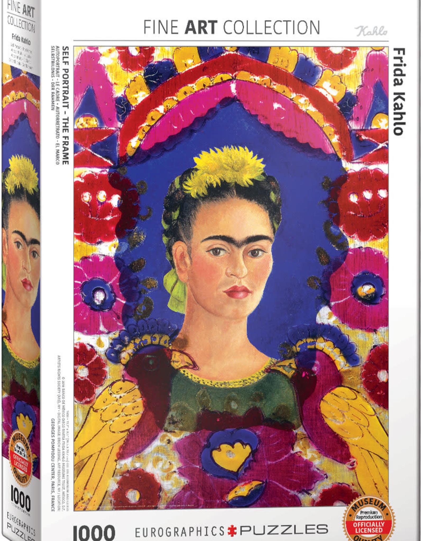 Eurographics Self Portrait Frame by Frida K 1000pc
