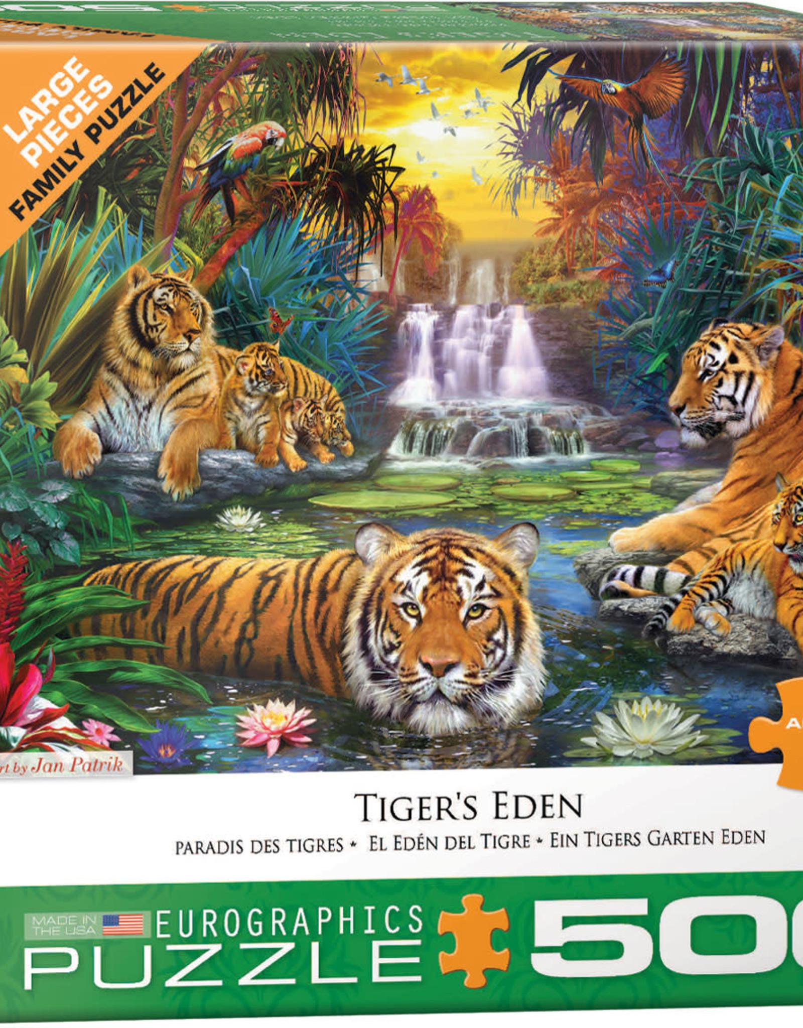 Eurographics Tiger's Eden by Jan Patrik 500pc