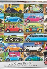 Eurographics VW Beetle - Gone Places 1000pc