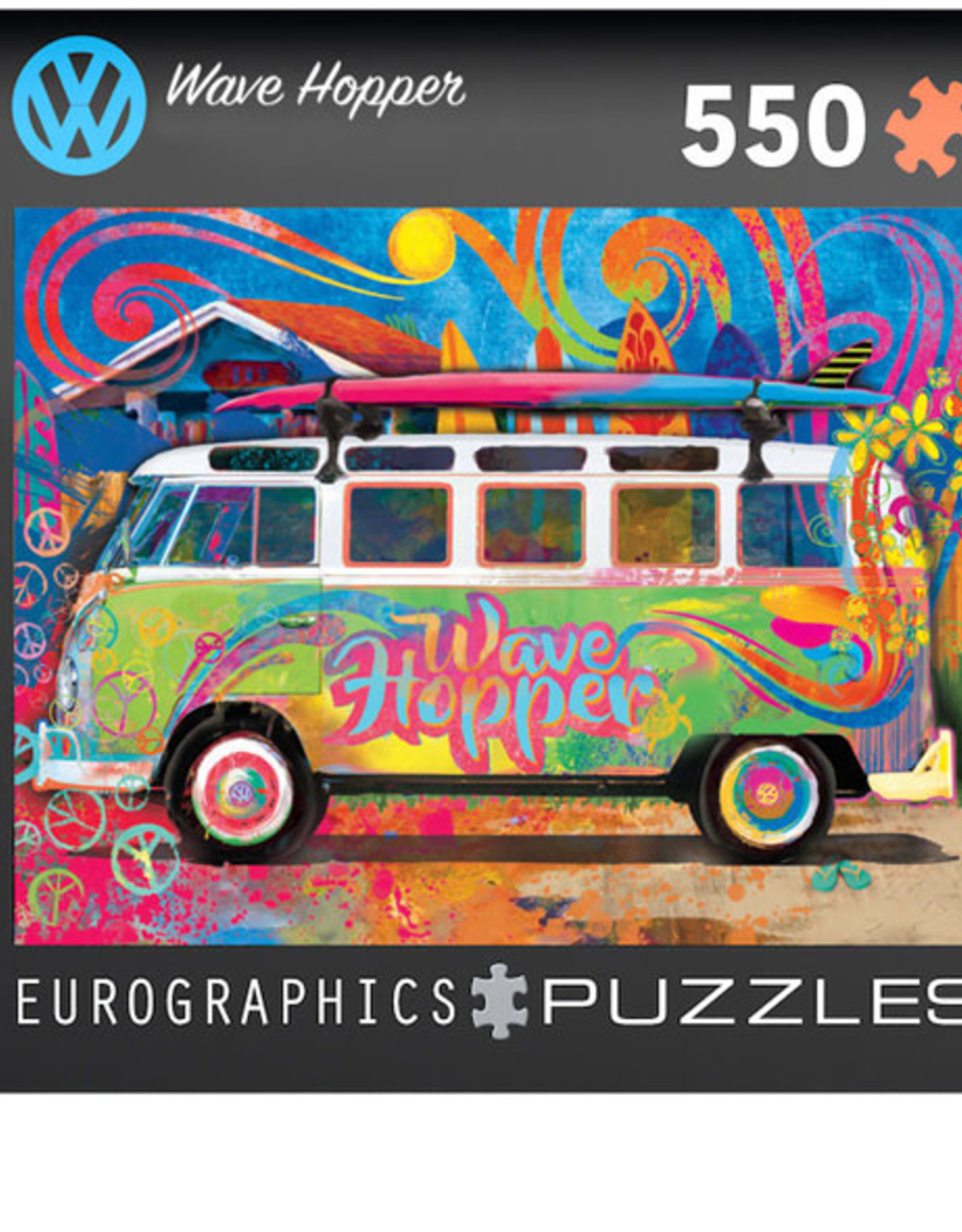Eurographics VW Bus Tin - Wave Hopper