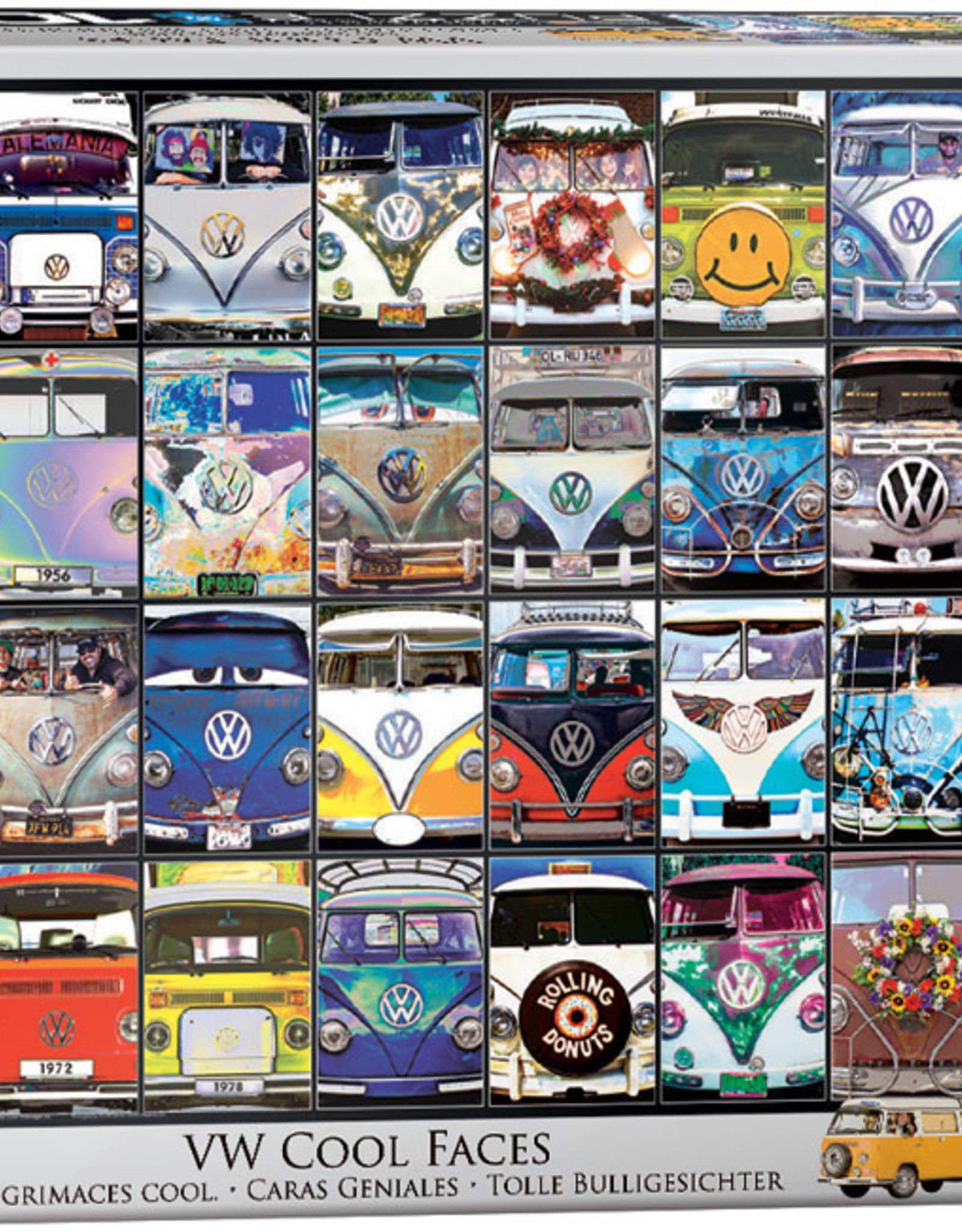 Eurographics VW Cool Faces 1000pc