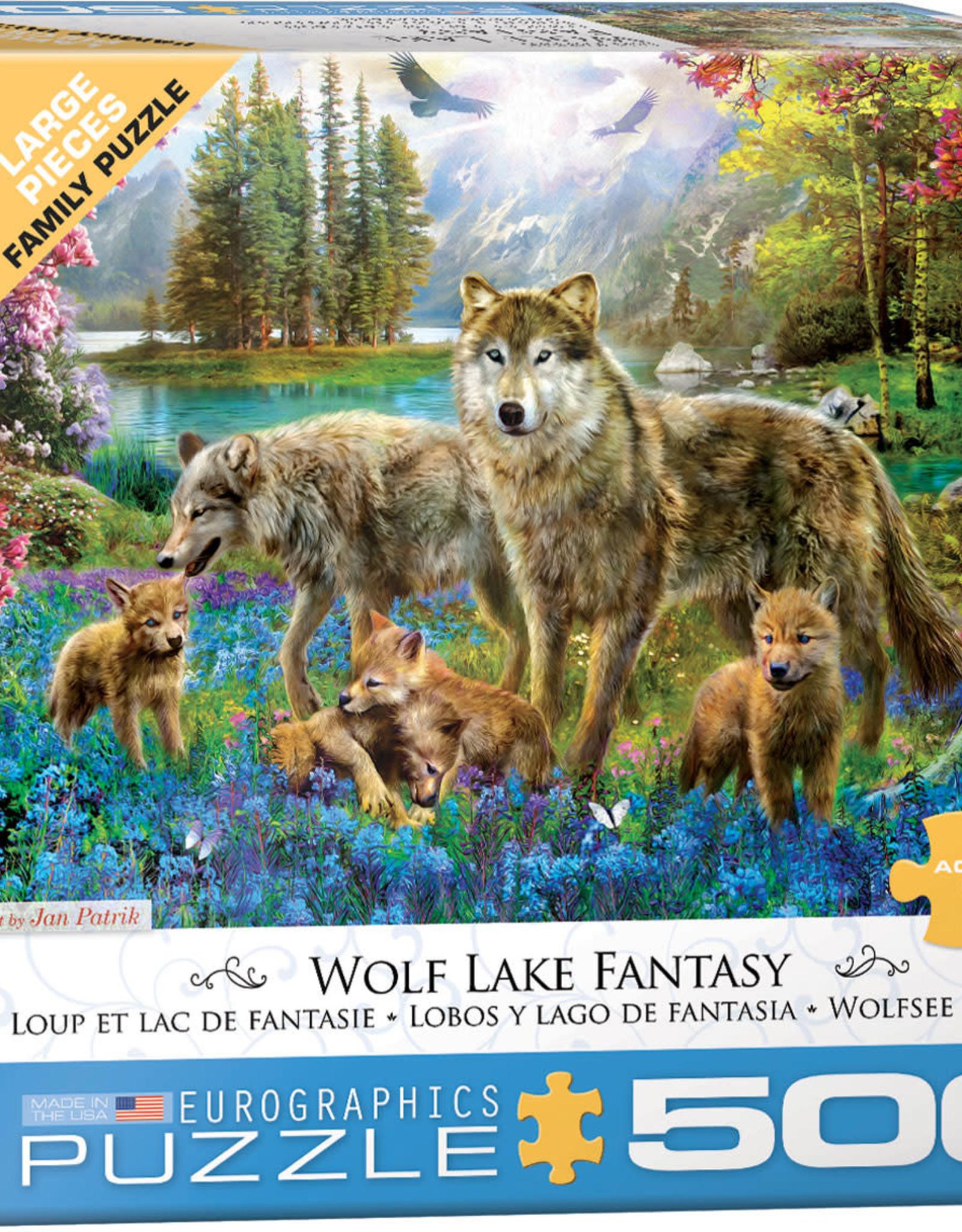 Eurographics Wolf Lake Fantasy 500pc