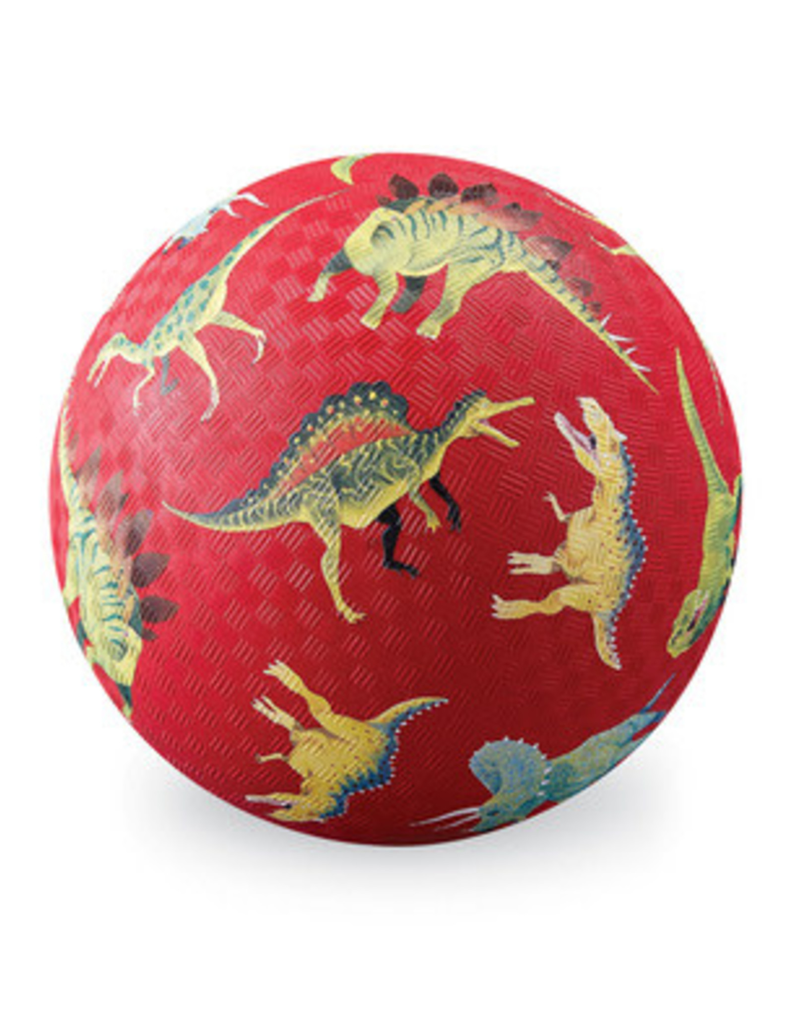 "Crocodile Creek 7"" Playball / Dinosaurs Red"