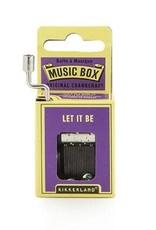 Kikkerland Let it Be Crank Music Box