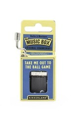 Kikkerland Take Me Out to the Ball Game Crank Music Box