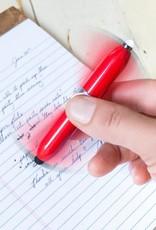 Kikkerland Spinning Pen & Light