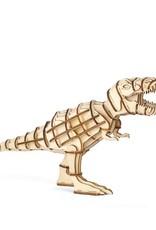 Kikkerland T-Rex 3D Wooden Puzzle