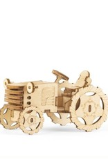 Kikkerland Tractor 3D Wooden Puzzle