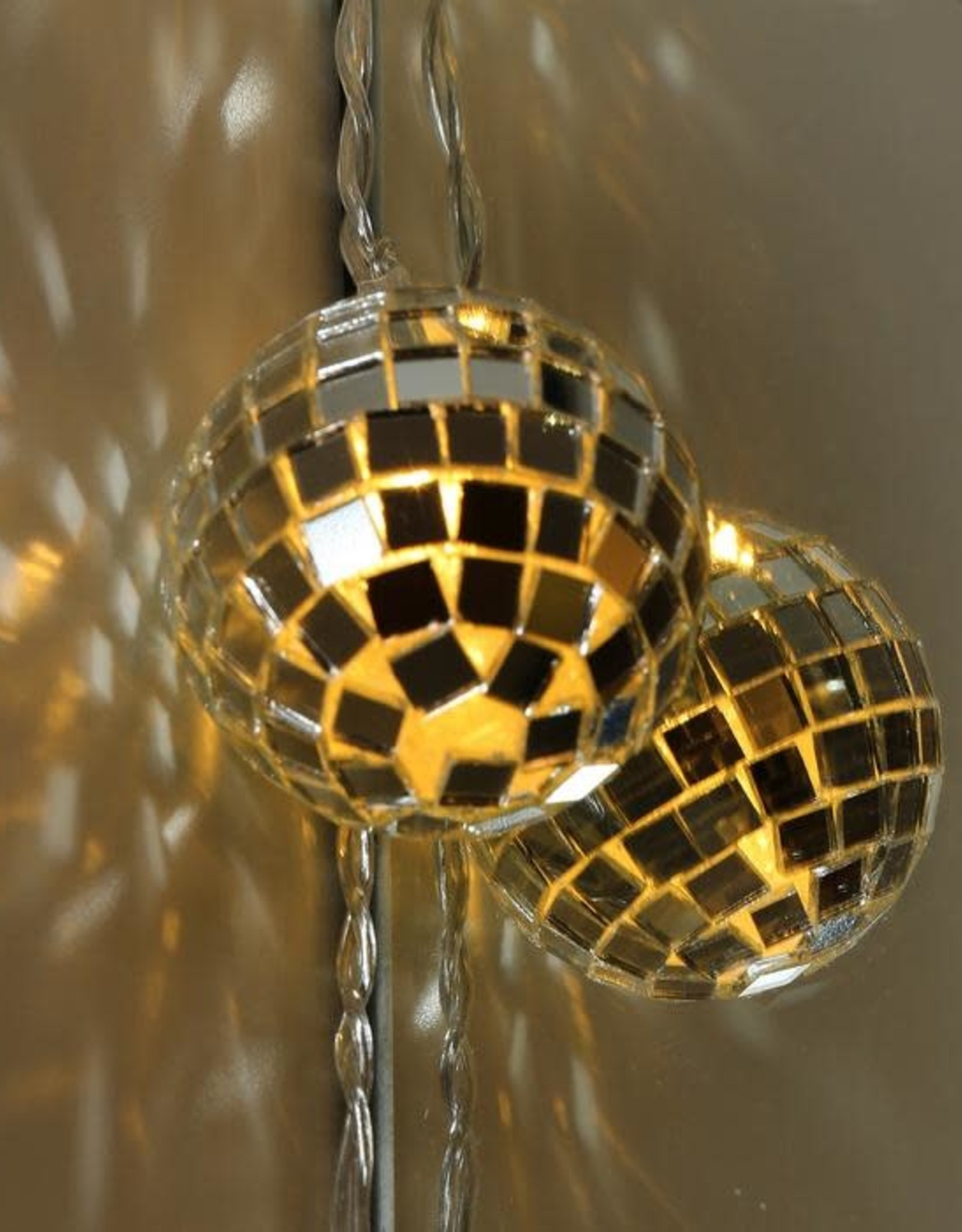 Kikkerland Disco String Lights