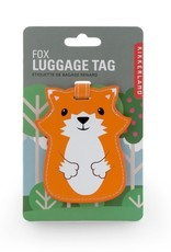 Kikkerland Luggage Tag Fox