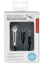 Kikkerland Mini Karaoke Microphone - Silver