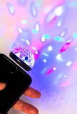 Kikkerland iPhone Disco Light Black