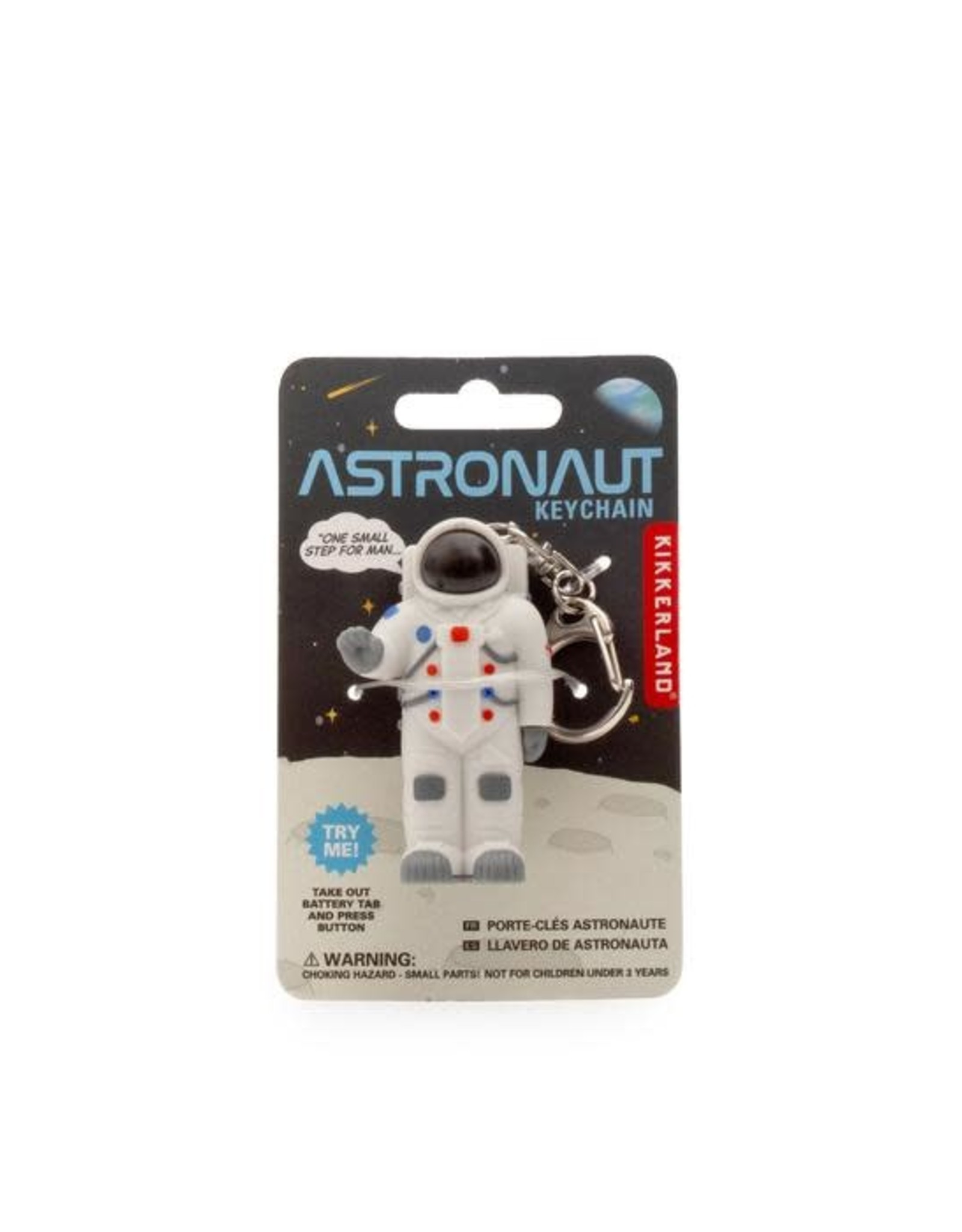 Kikkerland Astronaut Keychain
