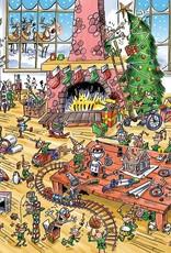 Cobble Hill DoodleTown: Elves at Work 1000pc