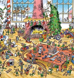 Cobble Hill DoodleTown: Elves at Work 1000pc