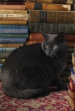 Cobble Hill Library Cat 1000pc