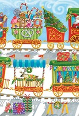 Cobble Hill Christmas Train (Family) 350pc