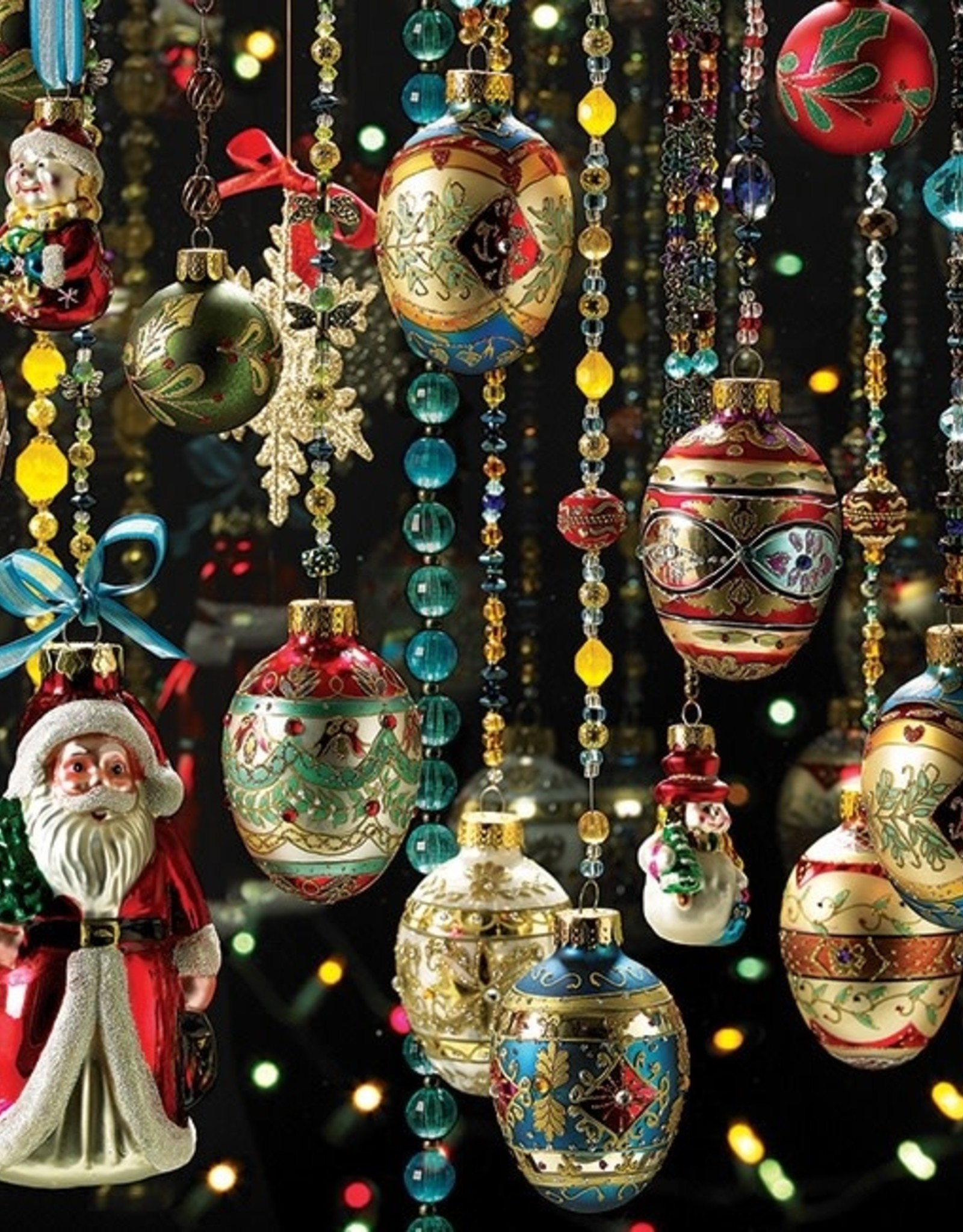 Cobble Hill Christmas Ornaments 1000pc