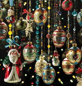 Cobble Hill Christmas Ornaments 1000pc